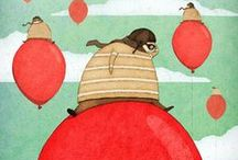ilustração para pequenos / by Amanda Oliveira