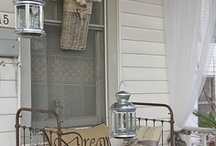 Rustic/Vintage Decor (re-purpose) / Looking for ladders to try out a project or two.. Check out: http://www.facebook.com/ricketyswank