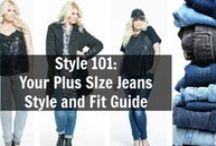 Denim, Denim, Denim, Denim = Plus Size Denim / Looking for a few great pairs of plus size jeans and the designers who make them? Check out this board!  / by The Curvy Fashionista