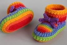 Fiber Arts / Crochet, Knitting, Yarn, Loom Knitting, Crocheted and Knitted Jewelry / by Lynda Anderson Clayton