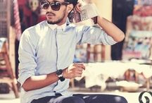 For him. Men's fashion. / by Brianne Aglaure