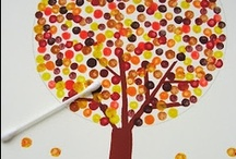 Kids + Fall Ideas and Activities / Fall is for colorful leaves, back to school, learning new things, and so much more!