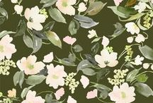 Print: Floral, Foliage / by Suzanne Marie
