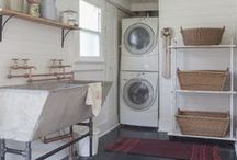 | LAUNDRY-spiration | / ...because someone's got to do it, so it might as well be done in a pretty space. / by Miss Mustard Seed