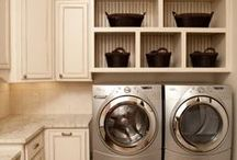 Laundry Room Inspiration / by Lauren L