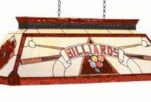 Billiard Decor / Racks, Furniture, Lights, Wall Art and More!