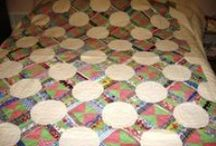 Quilts Doilies and Scarfs / New and Vintage quilts Doilies and Scarfs made by myself, relatives or purchased at estate auctions. / by Country Living, Antiques, Collectibles and More