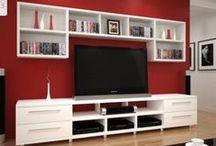 Book Shelves & Desks