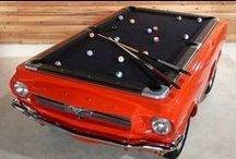 Cool Pool Tables / Not all pool tables were created equal... Some are quite unique! Not that we sell all these types of pool tables, but we can still be inspired!