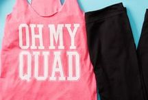 Workout Clothes and Fashion / Clothes to workout in for women that help you work hard and look great!