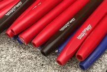 Grips We Use / Shown here are the types of grips we use on our Milled Putters.