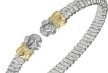 """Vahan: """"Love of the Craft"""" / Founded in 1968 by a third-generation jewelry designer, Vahan specializes in dual-tone sterling silver and 14k gold pieces. Come into Carroll's to see some of the jewelry Vahan has designed """"for the love of the craft""""."""