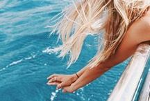 photography • tropical summer / summer photography ideas & tips / color schemes / style inspiration / beach / tropical / vacation ideas / sun / beach waves