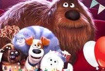 Ideias para festinha Pets / Sugestões de decoração para festa infantil Pets: A vida secreta dos bichos.