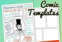Comic Strip Creation for Kids / From funny to informational, kids love writing and drawing their own cartoons and comic strips, books, and graphic novels with the help of templates, tutorials, tips, and printables.