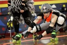 roll out! / ♥ roller derby ♥ / by Aninha Costa