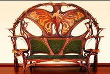 Art Deco,Art Nouveau Furniture / by Tarol DiVita