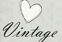 VINTAGE / by Paty Tann