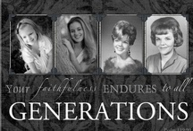 3-4 generation photo ideas / by Missy Grandberry Brown