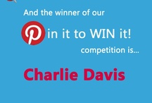 Pin it to WIN it Competition / This competition has now closed. The winner will be announced Wednesday 20th February.