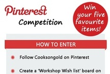 Win Your Workshop Wish List / To enter the competition, simply repin your five favourite items onto your own board named 'Workshop Wish List', then comment your link on the promo pin within this board. Competition end 31/05/13. For full T&C's click here: bit.ly/Y4Ub08