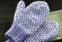KNITTING:  Mittens, Wristers and Gloves