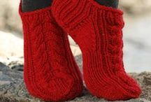 KNITTING:  Socks, Slippers and Booties
