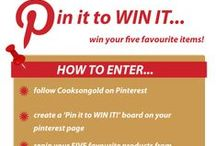 Pin It To Win It - May 2014 / Win 5 of your favourite workshop items! Competition ends at midday on 30th May 2014.