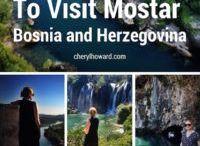 Travel to Bosnia and Herzegovina / Travel inspiration for those wanting to visit Bosnia and Herzegovina.