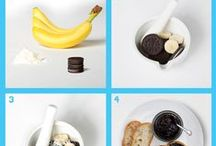 Snack Hacks / Some easy snacks, sweets, treats, food, anything worth to shot at home