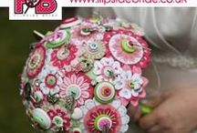 Alternative Bouquets / Felt, button and paper bouquets
