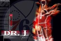 "Julius Winfield Erving II aka ""Dr. J"" / by Roger Lee"
