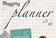 Blogging - Planner