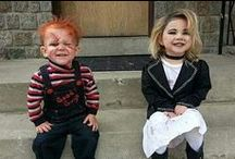 Halloween inspiration / Halloween costumes that can be used for fancy dress, at any time of the year and Halloween decorations for the home.