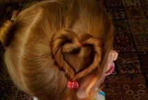 Style for Girl's Hair / Braids for girls, kids with curly hair, little girl hair styles