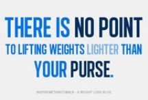 Fitness - Strength Training / All about lifting weights and strength training  / by Joanna Acclis