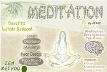Health - Meditation & Yoga / by Joanna Acclis