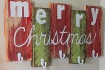 The Stockings were hung by the chimney with care... / by Kelly Brooks-Vaupel
