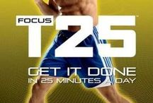 Fitness - Focus T25 / by Joanna Acclis