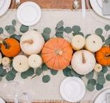 Fall Decor / Fall decor inspiration.