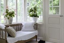 Sunroom Inspiration / by MyPetiteMaison.com