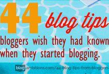 Blogging - Tips & tricks