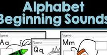 Preschool Literacy / Letter recognition, alphabet writing, beginning sounds