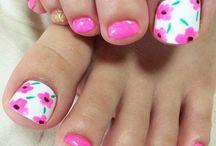 Nails - Nail art for toes