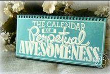 Calendars / by Sherry Dobreski