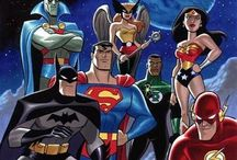 DC HEROES / by Tim Coats