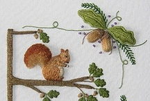 Embroidery / Ideas for embroidery art! / by Bonnie Burton