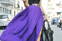 Ultra Violet / A collection of purple fashions / by Kaitlin Boger