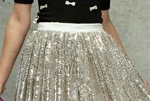Metallic Dream / A collection of gold, silver, and sequined fashions / by Kaitlin Boger