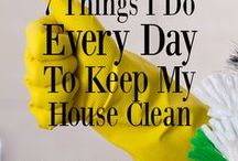 Clean It / Cleaning inspiration...because I really need it!
